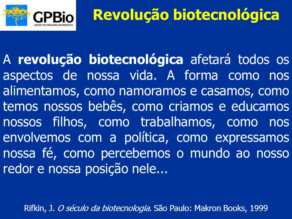Revolução biotecnológica