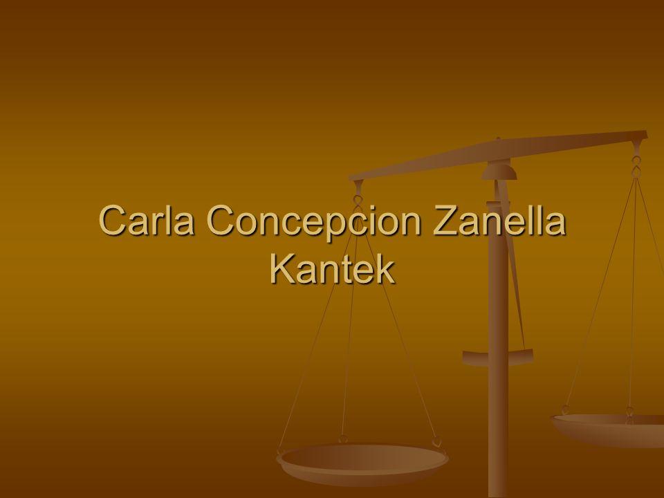 Carla Concepcion Zanella Kantek