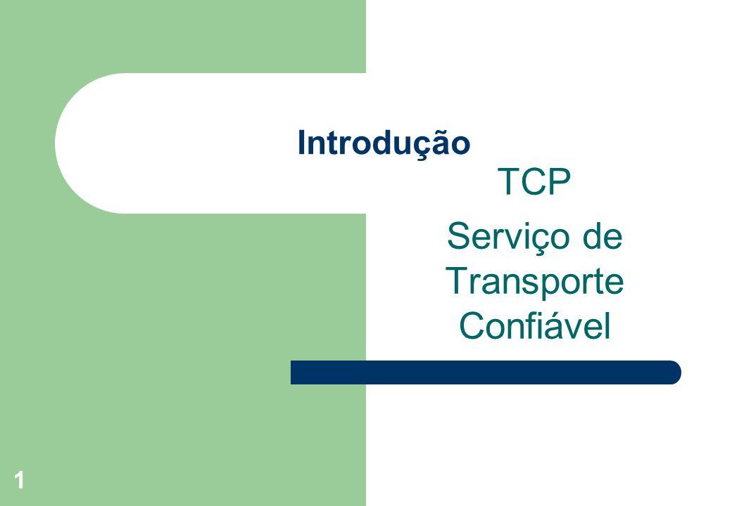 TCP Serviço de Transporte Confiável
