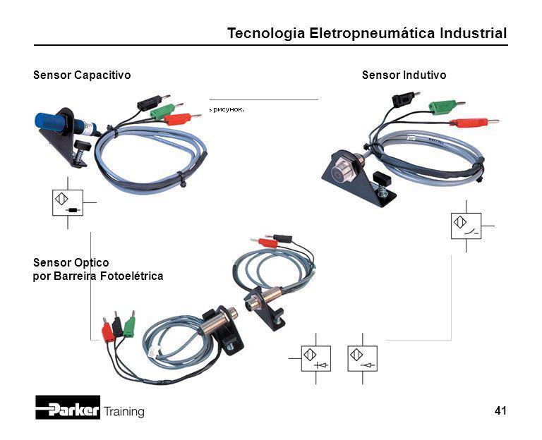 Sensor Capacitivo Sensor Indutivo Sensor Optico por Barreira Fotoelétrica