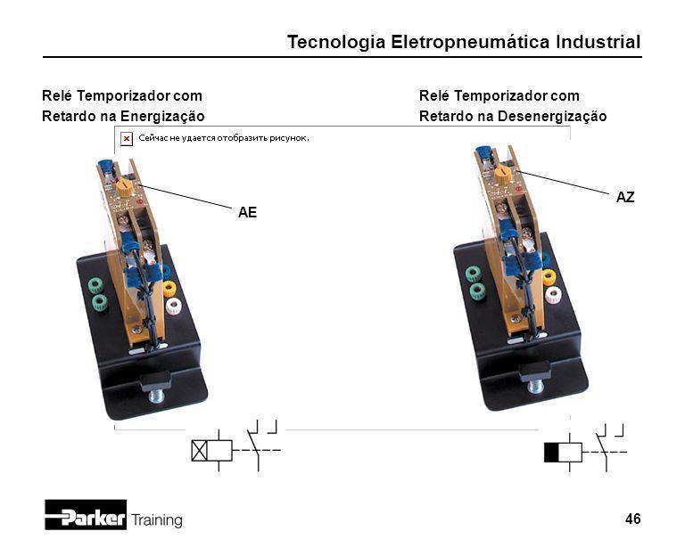 Relé Temporizador com Retardo na Energização Relé Temporizador com Retardo na Desenergização AZ AE