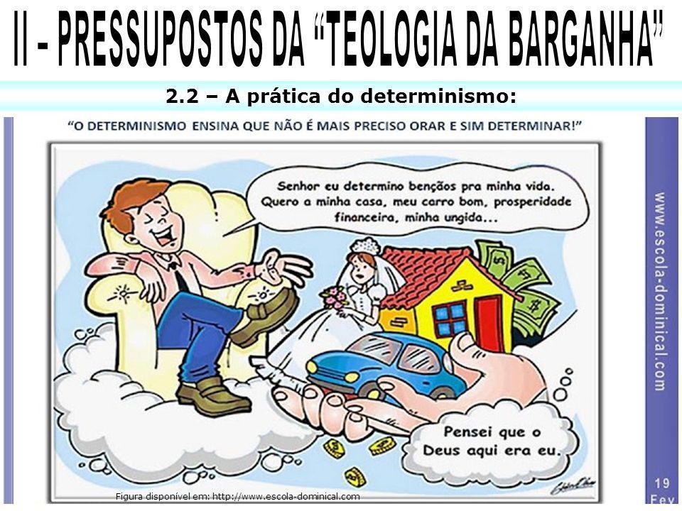 II – PRESSUPOSTOS DA TEOLOGIA DA BARGANHA
