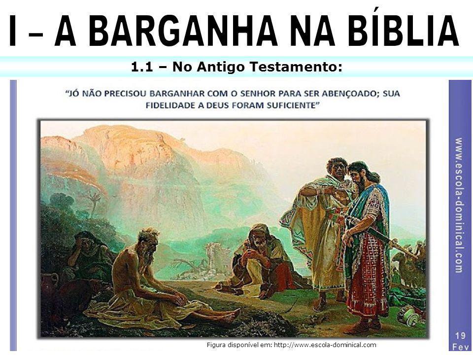 1.1 – No Antigo Testamento: