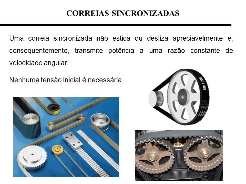 CORREIAS SINCRONIZADAS