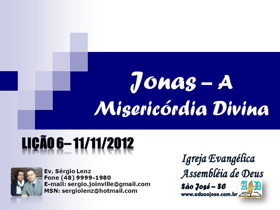 Jonas – A Misericórdia Divina