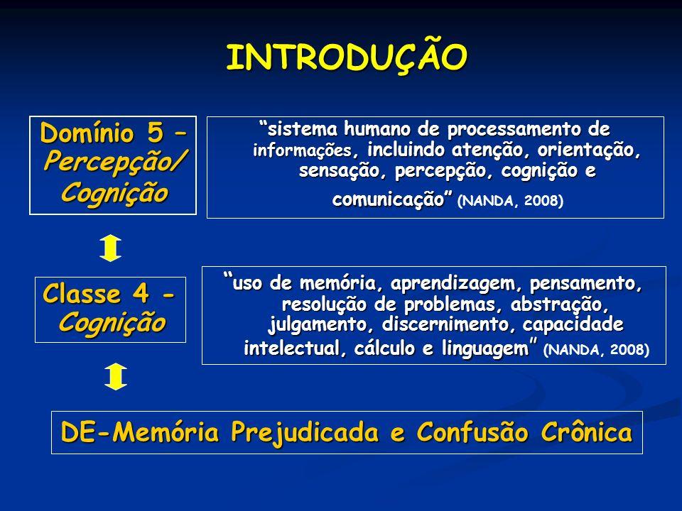 DE-Memória Prejudicada e Confusão Crônica