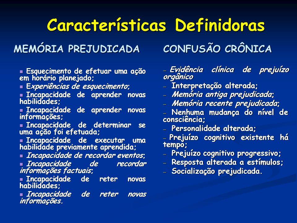 Características Definidoras