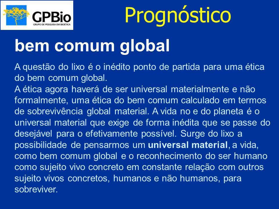 Prognóstico bem comum global