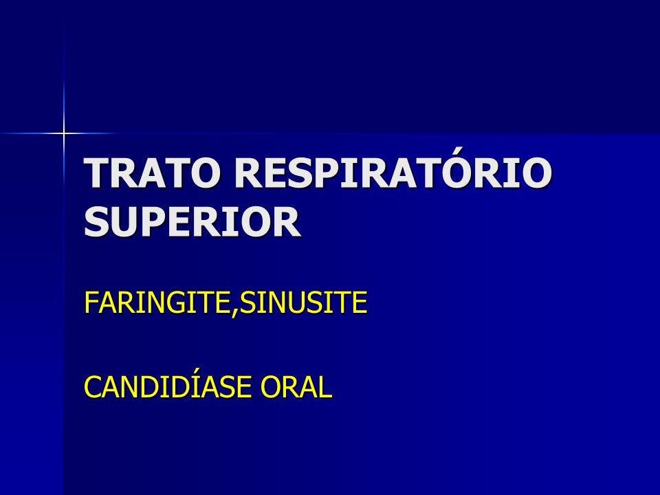 TRATO RESPIRATÓRIO SUPERIOR