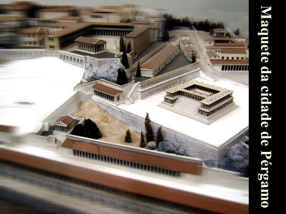Maquete da cidade de Pérgamo