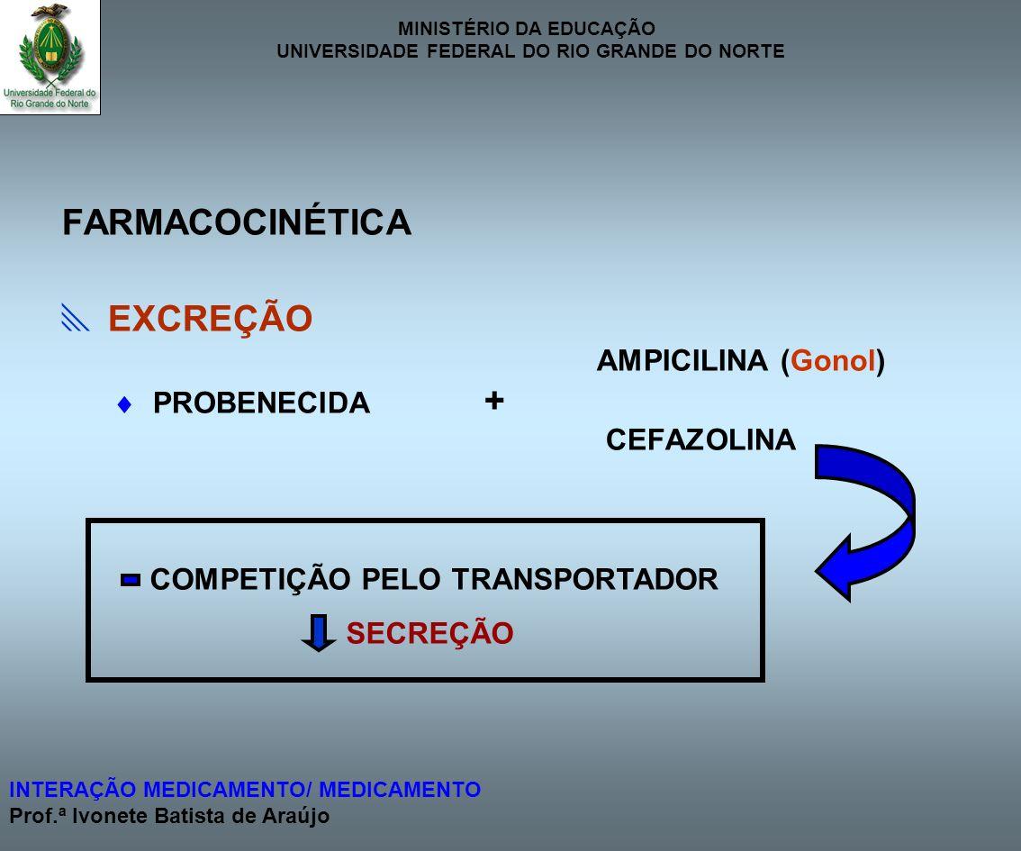 COMPETIÇÃO PELO TRANSPORTADOR