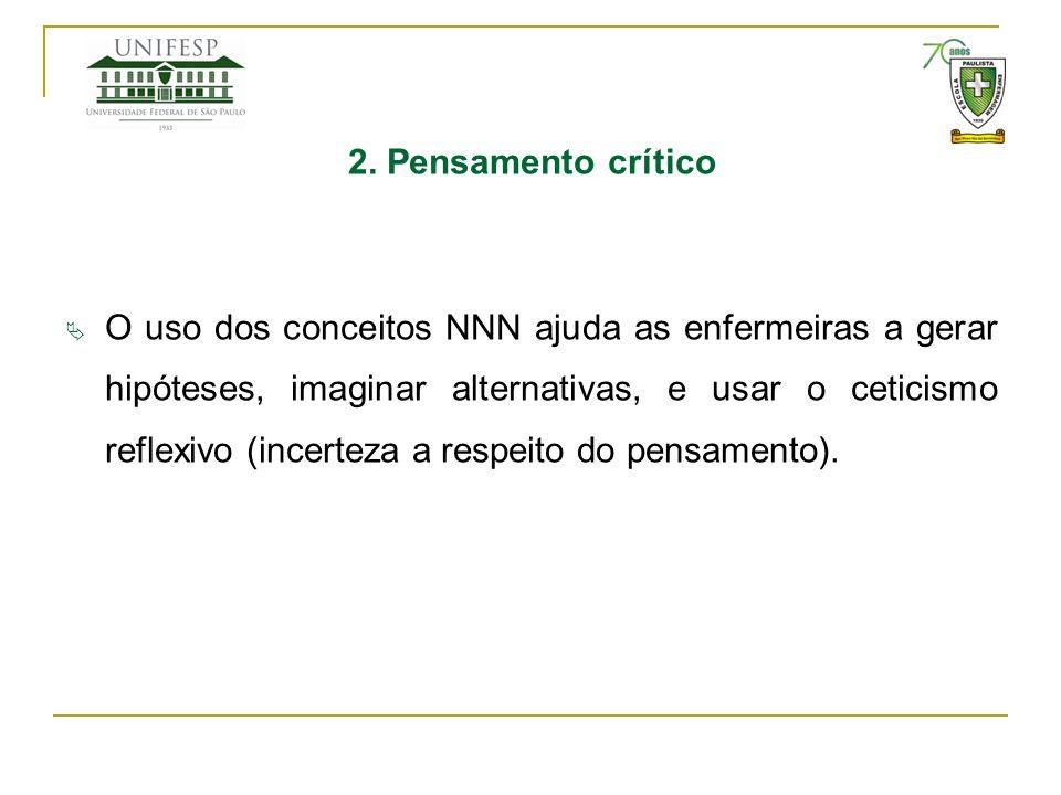 2. Pensamento crítico