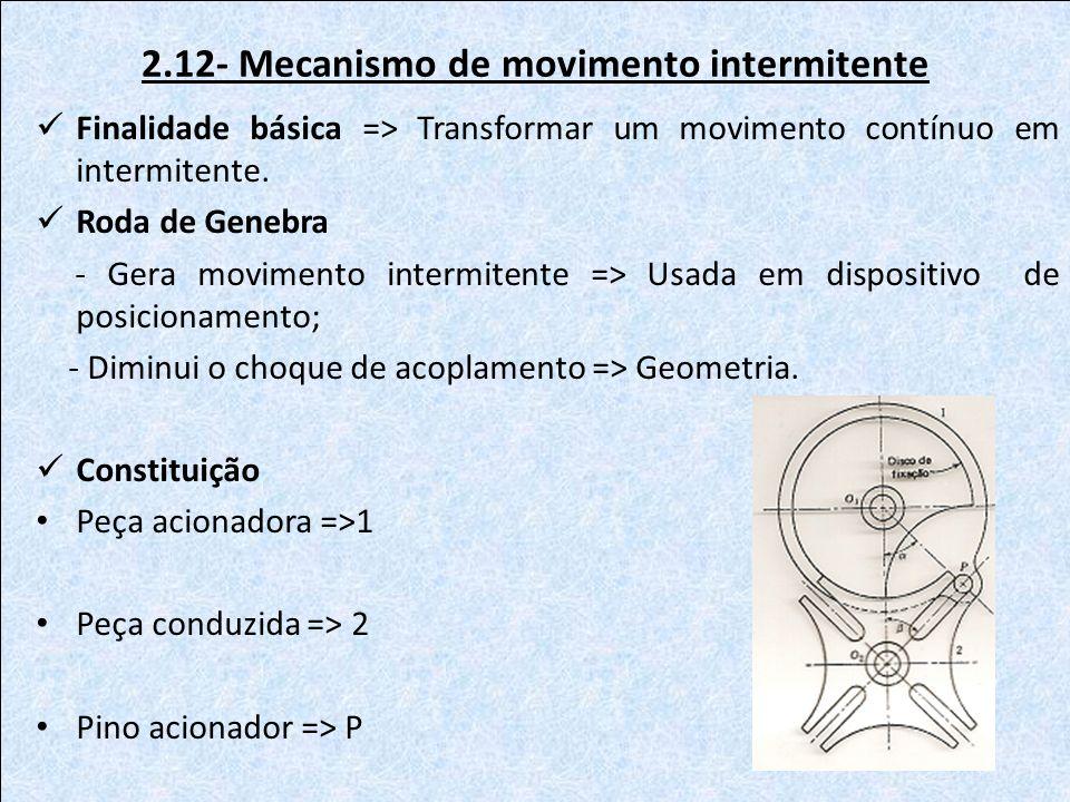 2.12- Mecanismo de movimento intermitente