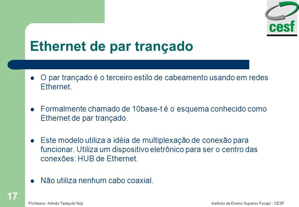 Ethernet de par trançado