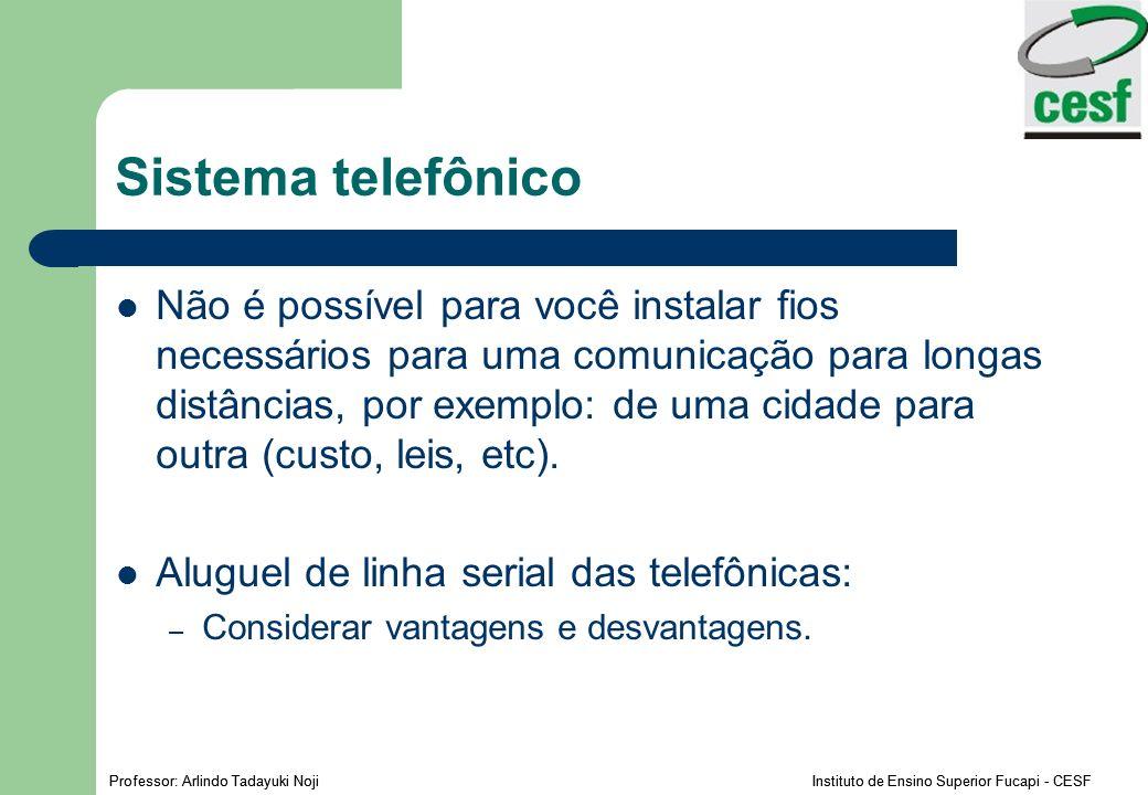 Sistema telefônico