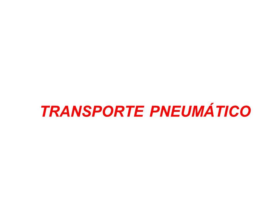 TRANSPORTE PNEUMÁTICO