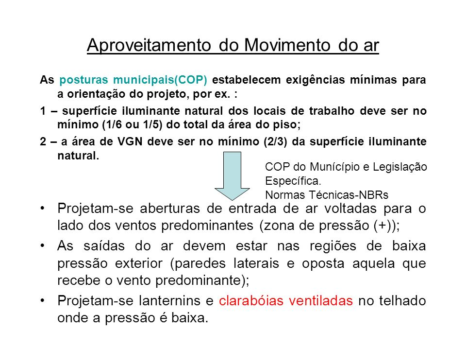 Aproveitamento do Movimento do ar