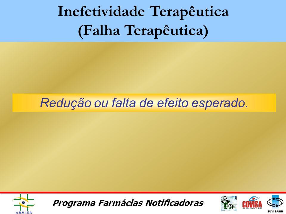 Inefetividade Terapêutica (Falha Terapêutica)