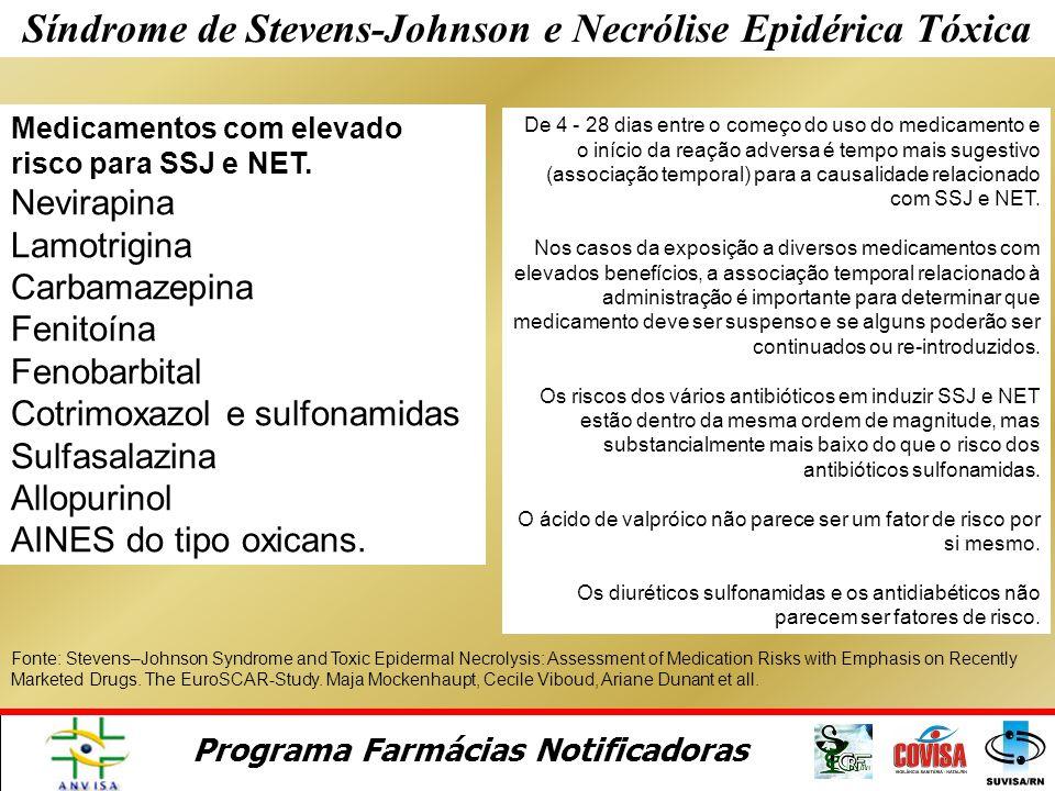 Síndrome de Stevens-Johnson e Necrólise Epidérica Tóxica