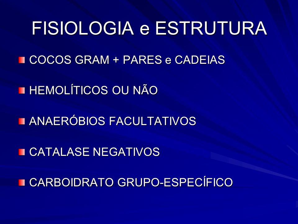 FISIOLOGIA e ESTRUTURA