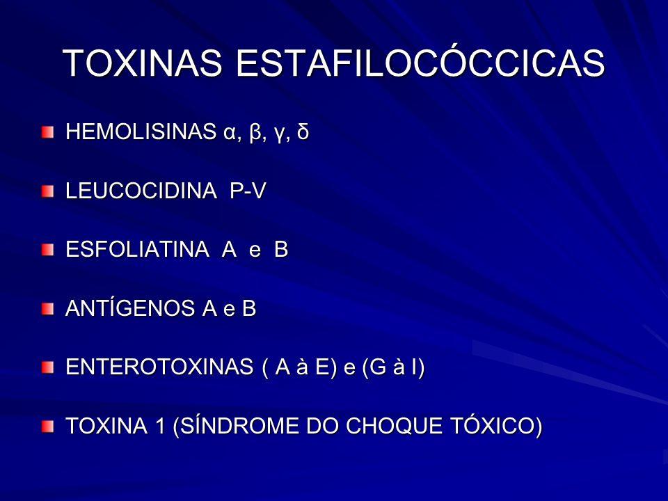 TOXINAS ESTAFILOCÓCCICAS