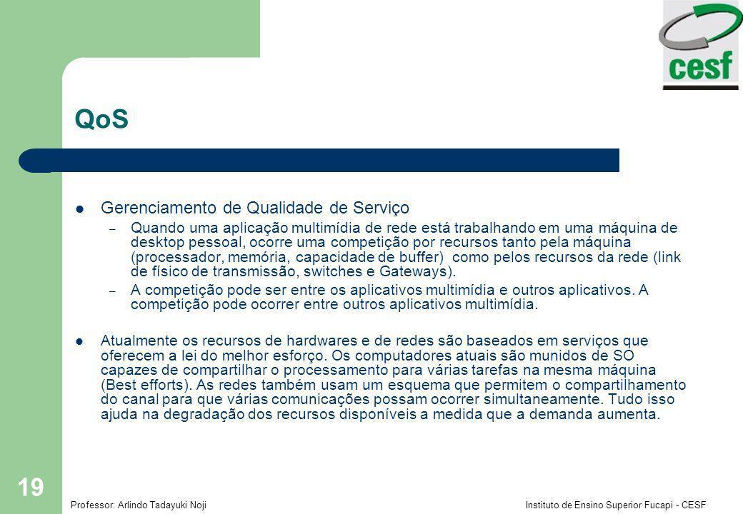 QoS Gerenciamento de Qualidade de Serviço