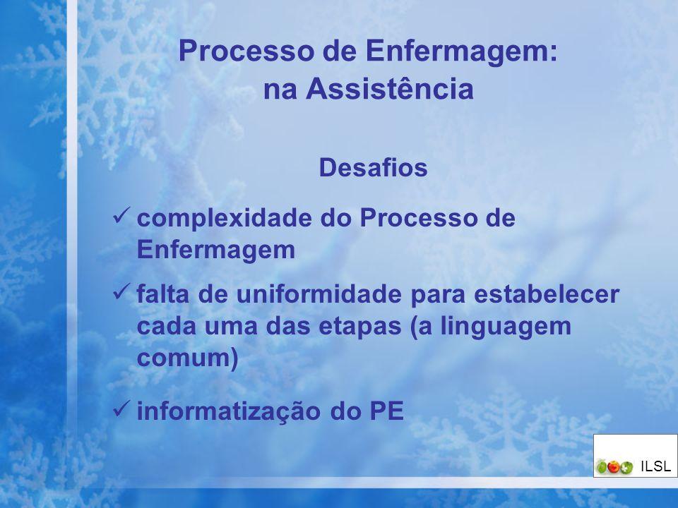 Processo de Enfermagem: na Assistência