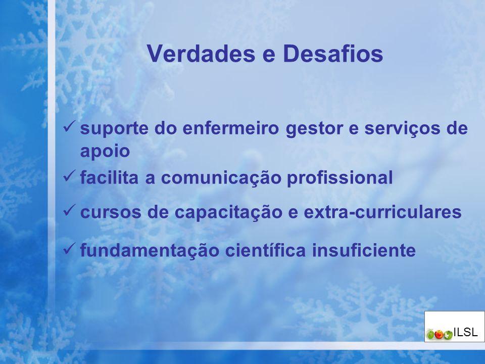 Verdades e Desafios suporte do enfermeiro gestor e serviços de apoio