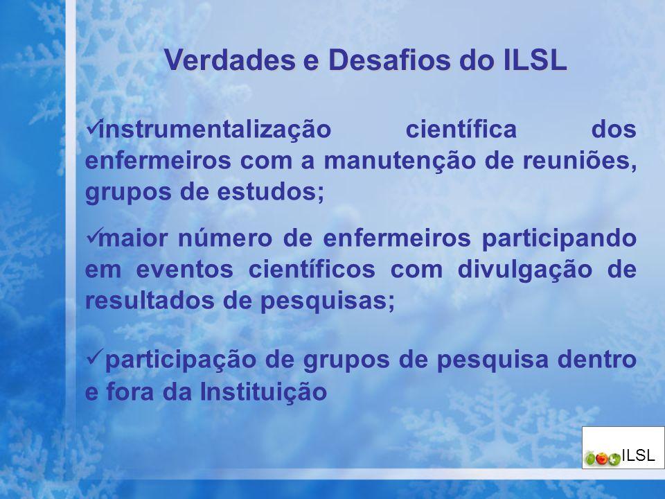 Verdades e Desafios do ILSL