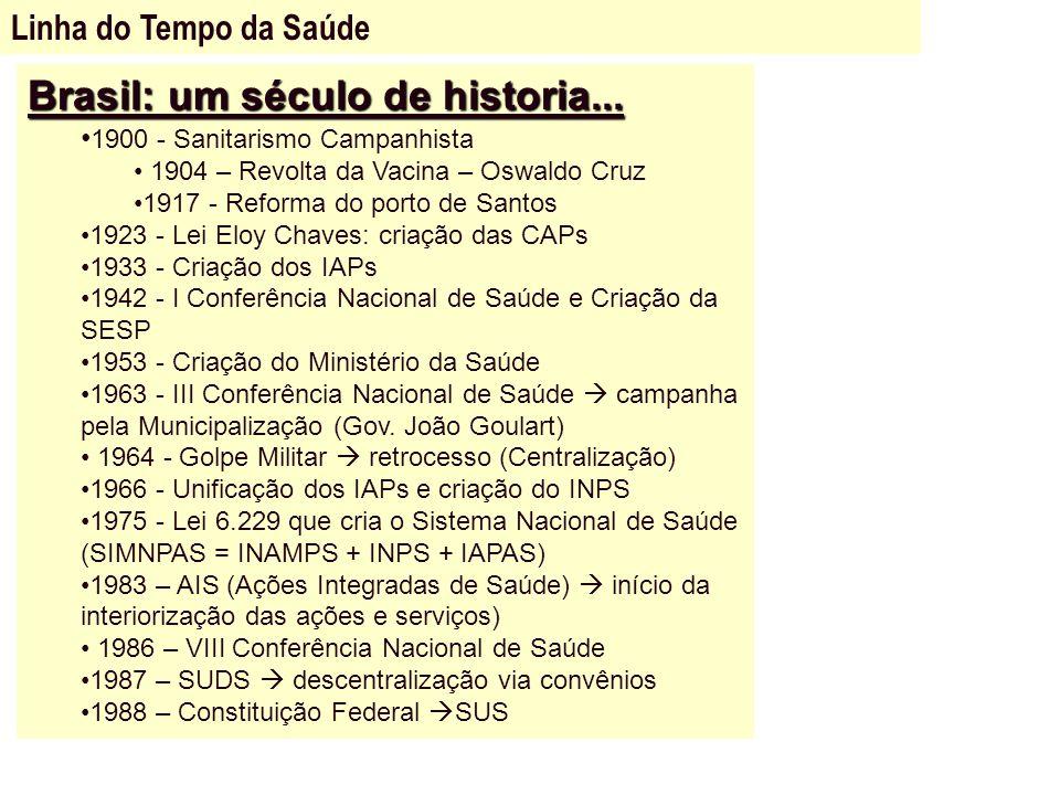 Brasil: um século de historia...