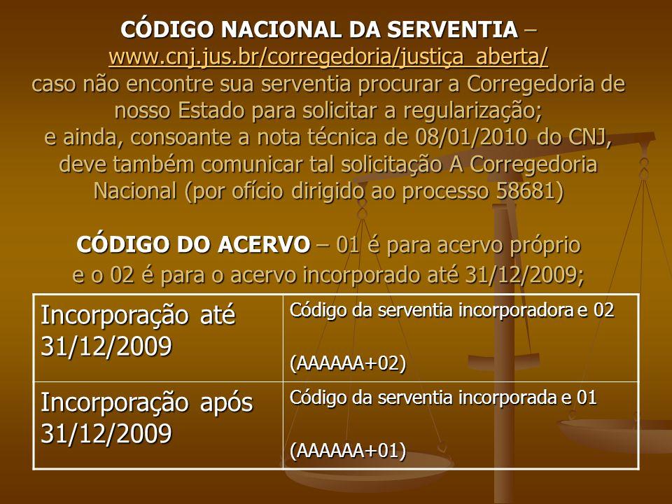 Incorporação até 31/12/2009 Incorporação após 31/12/2009