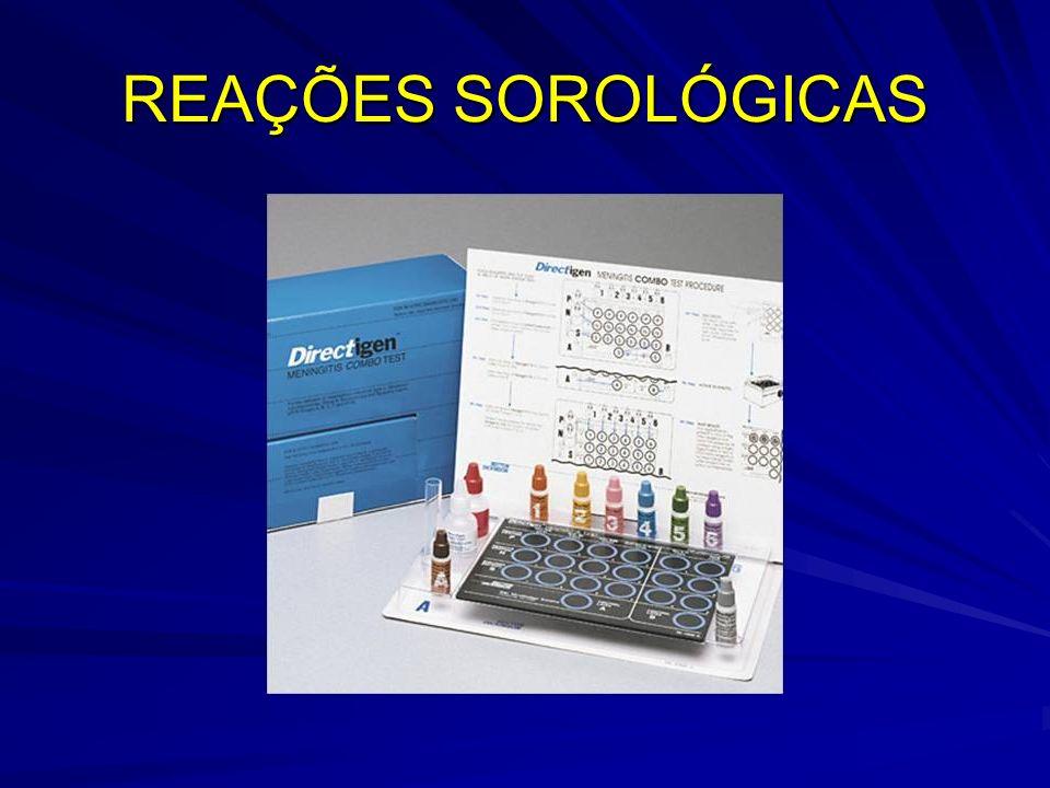 REAÇÕES SOROLÓGICAS