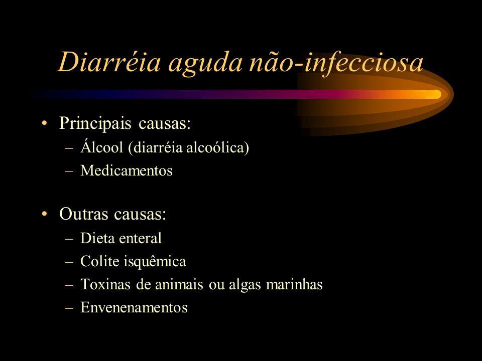 Diarréia aguda não-infecciosa