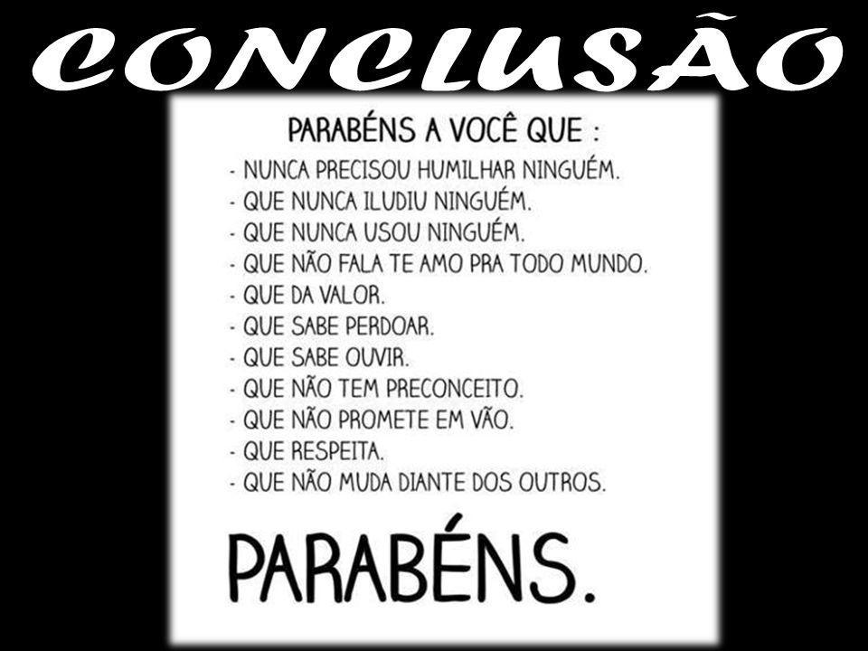 CONCLUSÃO X