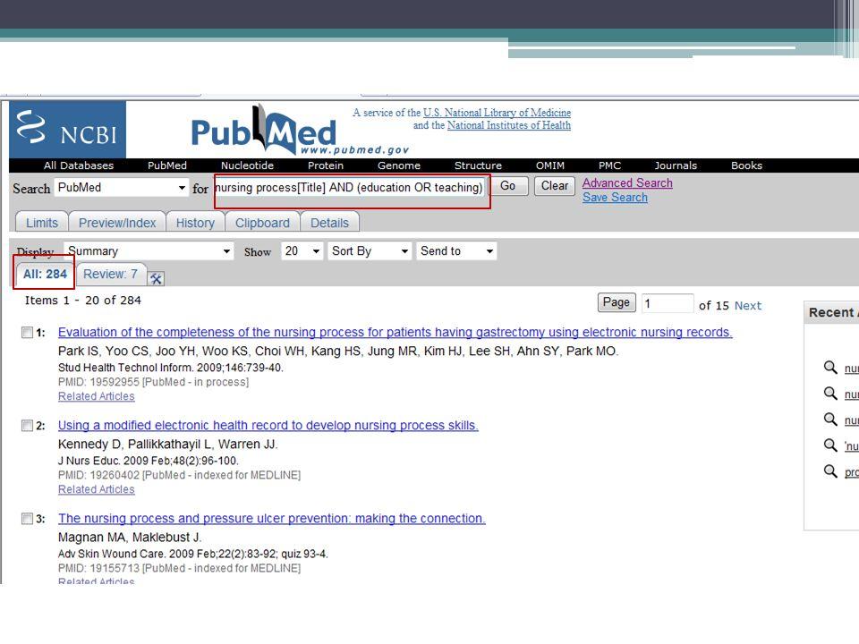 Processo de enfermagem no título E (ensino OU educação)