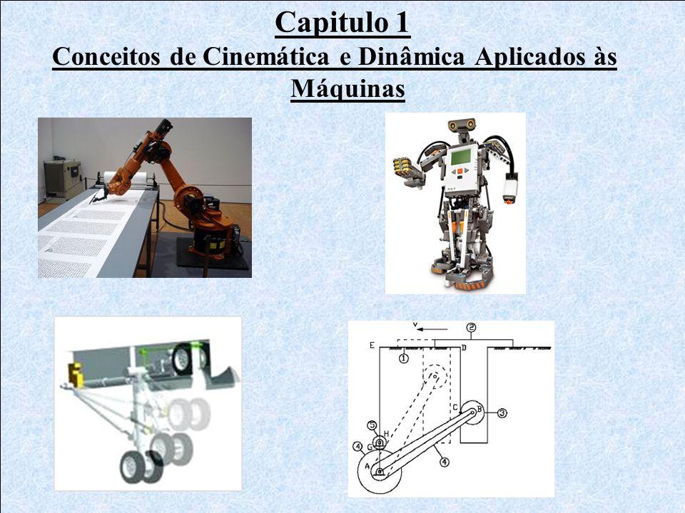 Conceitos de Cinemática e Dinâmica Aplicados às Máquinas