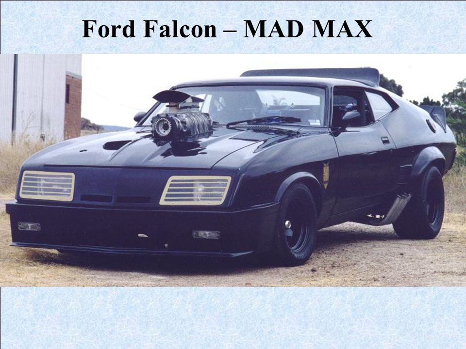 Ford Falcon – MAD MAX