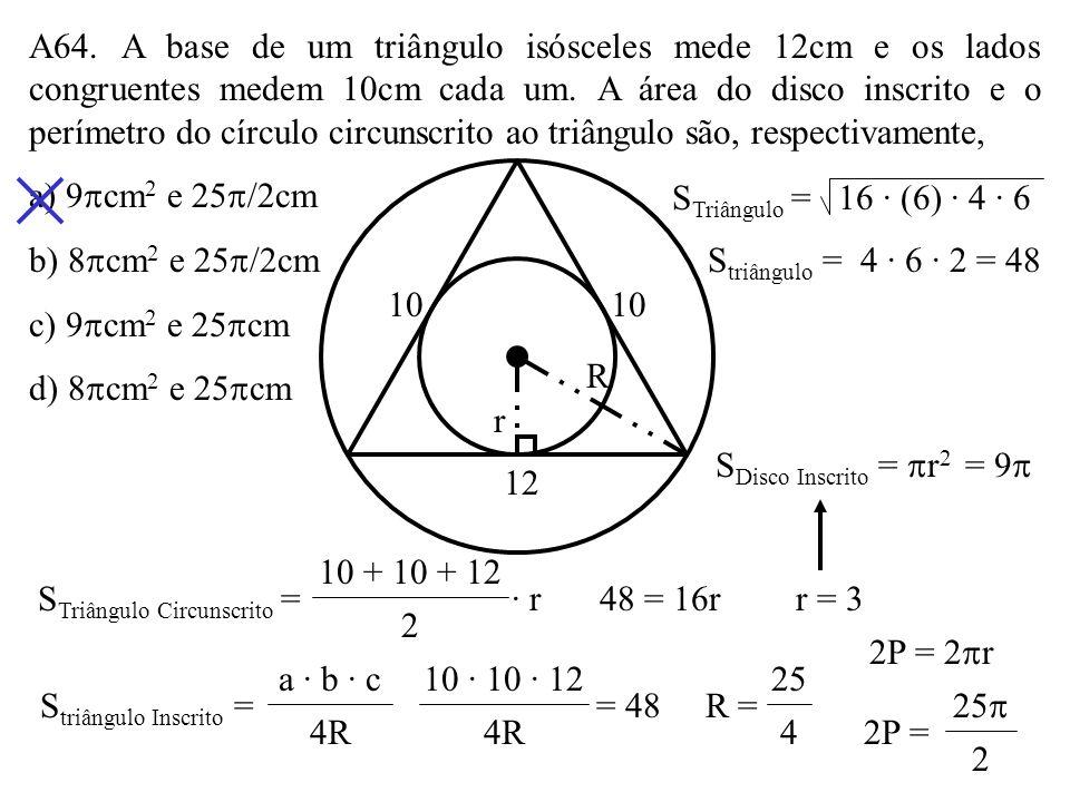 STriângulo Circunscrito =