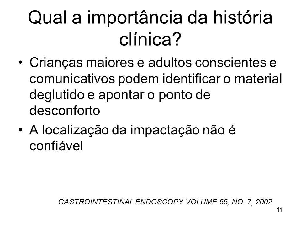 Qual a importância da história clínica