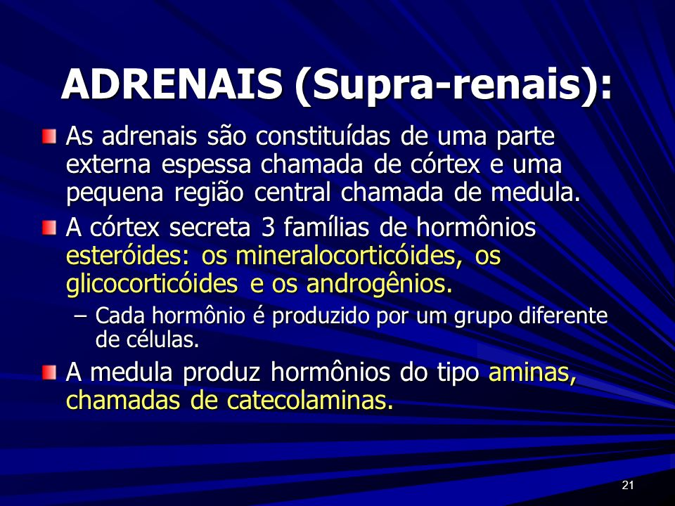 ADRENAIS (Supra-renais):