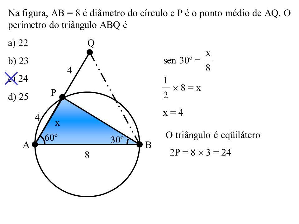 O triângulo é eqüilátero