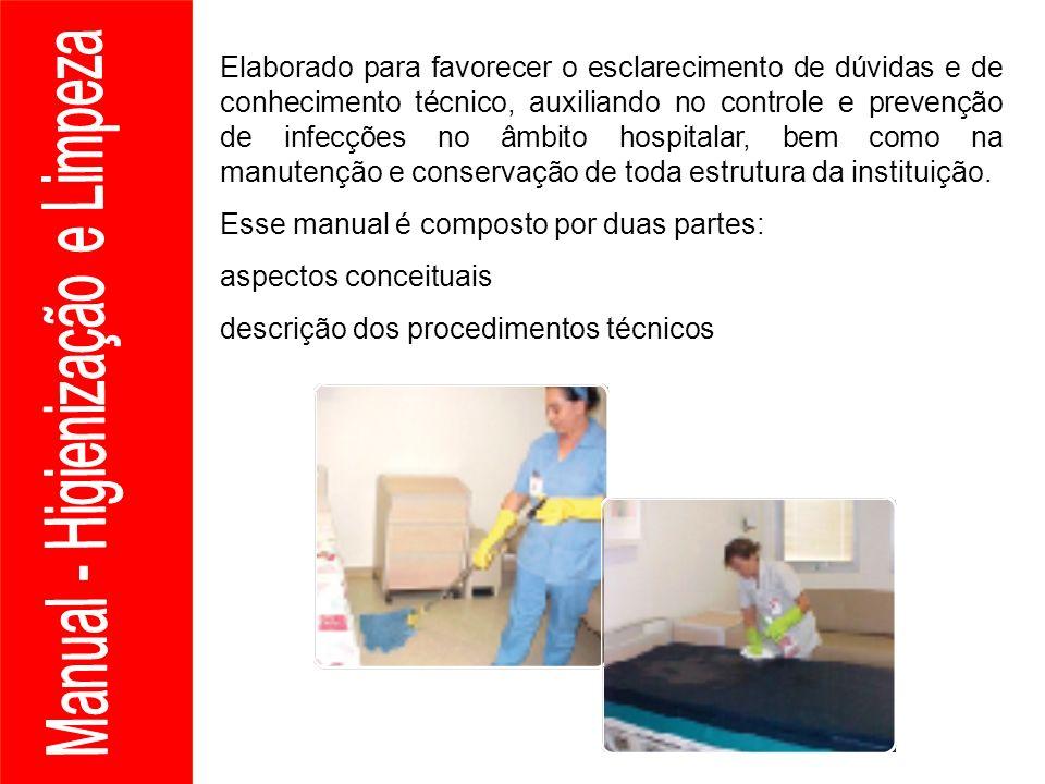 Manual - Higienização e Limpeza