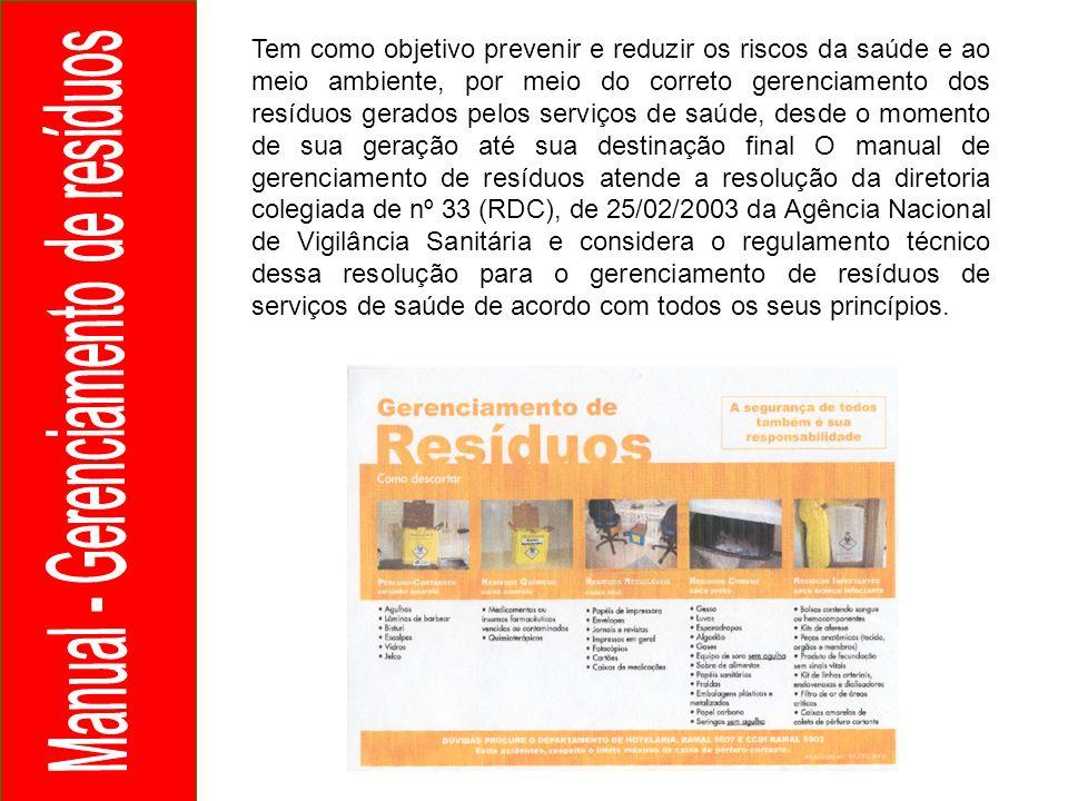 Manual - Gerenciamento de resíduos