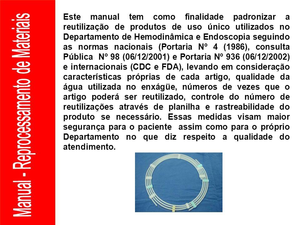 Manual - Reprocessamento de Materiais