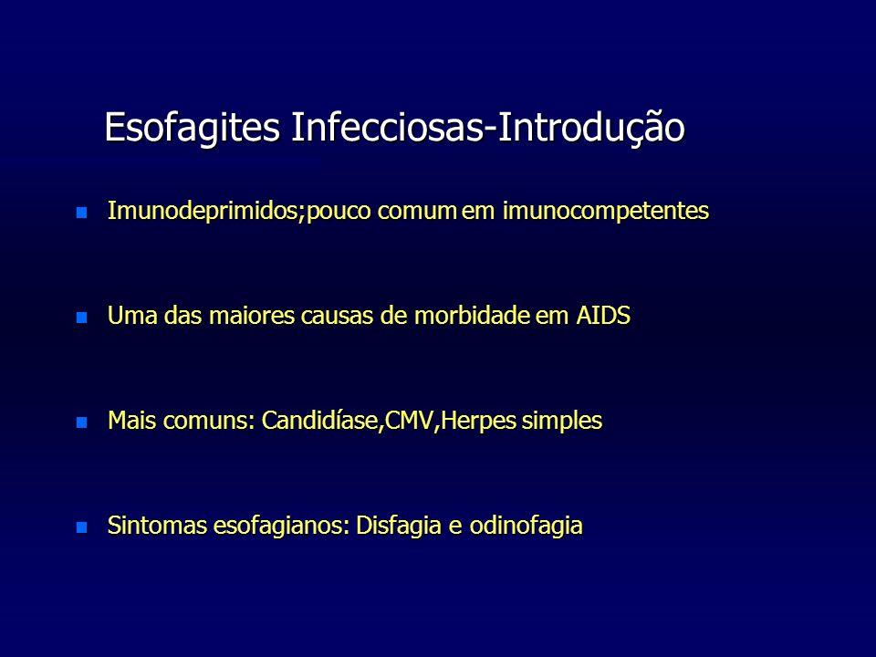 Esofagites Infecciosas-Introdução