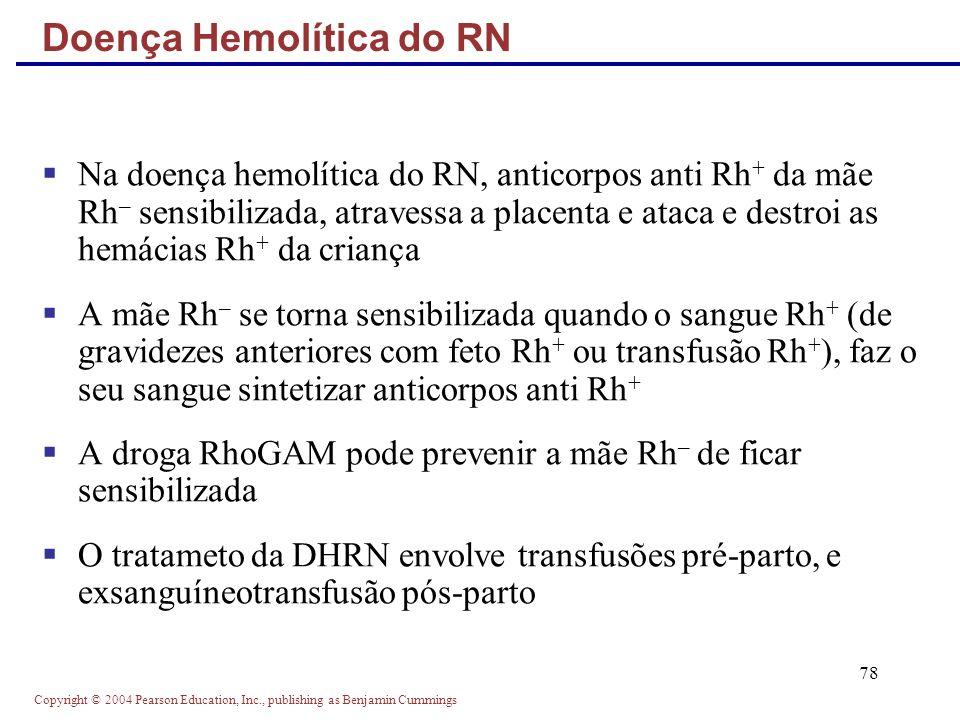 Doença Hemolítica do RN
