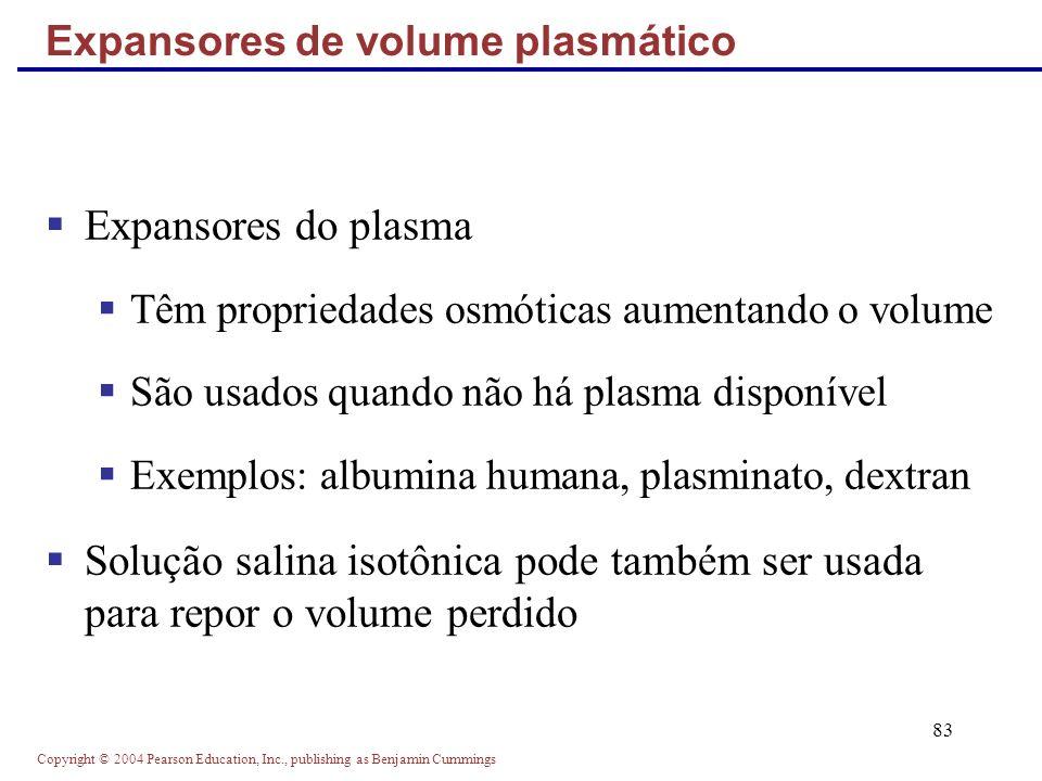 Expansores de volume plasmático
