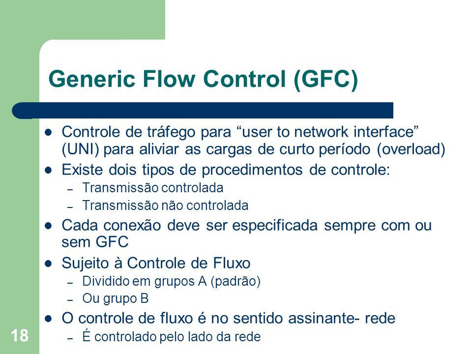 Generic Flow Control (GFC)