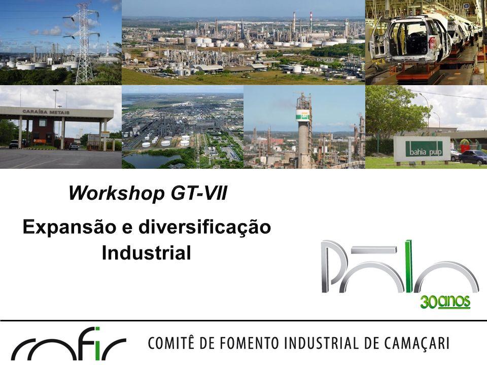 Workshop GT-VII Expansão e diversificação Industrial