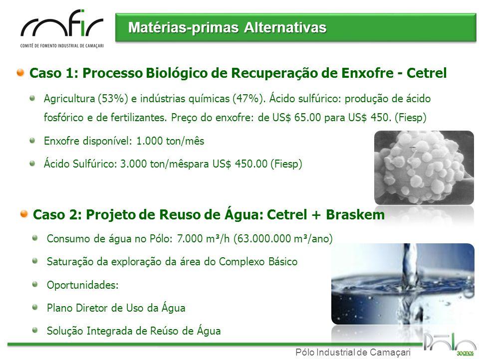 Matérias-primas Alternativas